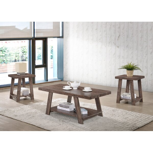 Victoria 3 Piece Coffee Table Set by Loon Peak
