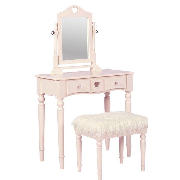 Lozada Vanity Set with Mirror by Rosdorf Park