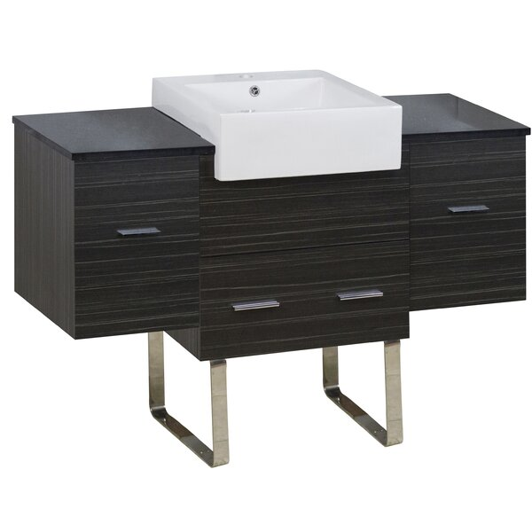 Baskett 51 Single Bathroom Vanity Set by Orren Ellis