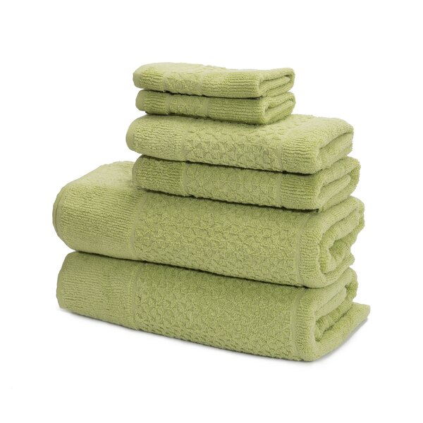 Treyton 6 Piece Turkish Cotton Towel Set by Zipcode Design
