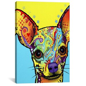 'Chihuahua' Graphic Art on Wrapped Canvas by Viv + Rae