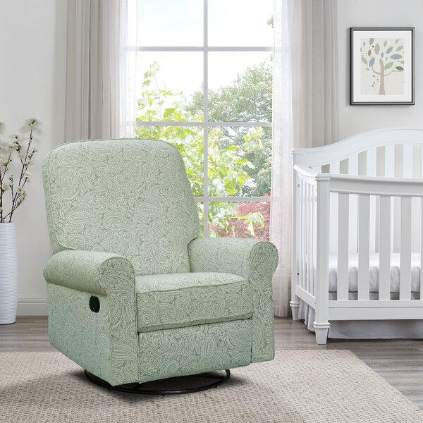 Basil Swivel Reclining Glider by Harriet Bee
