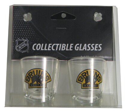 NHL Shot Glass Cup (Set of 2) by Boelter Brands