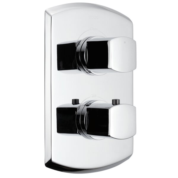 Soiree Valve Trim with Single Volume Control by Toto