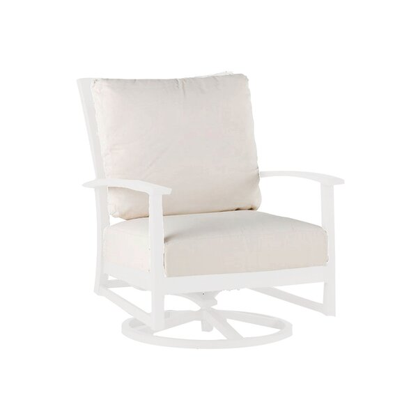 Charleston Swivel Patio Chair with Cushion by Summer Classics