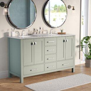 Affordable Price Ankney 60 Double Sink Bathroom Vanity ByBrayden Studio