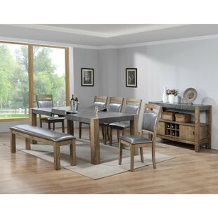 Reviews Liska Rubber Wood Dining Table By17 Stories