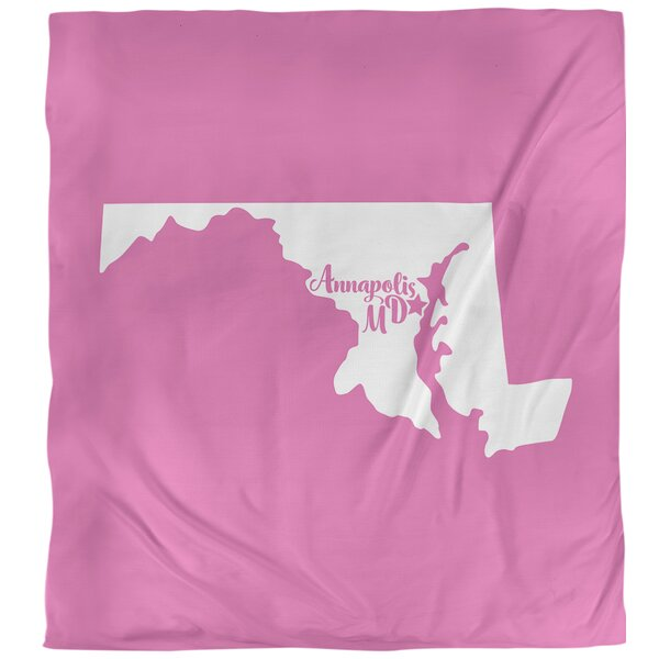 Maryland Annapolis Single Duvet Cover