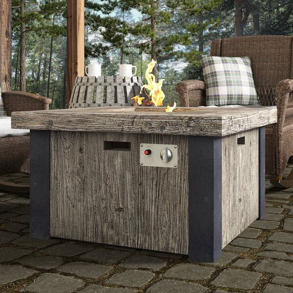 Harlem Fire Pit Table by Loon Peak