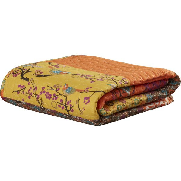 Somerton Cotton Throw Blanket by World Menagerie