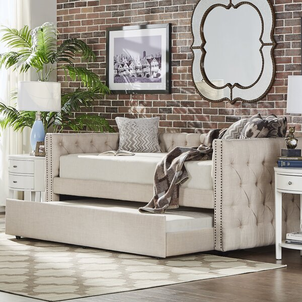 Albina Daybed with Trundle by Birch Lane™ Heritage