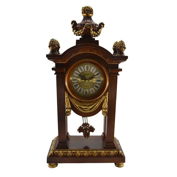 Pendulum Table Clock by Three Star Im/Ex Inc.