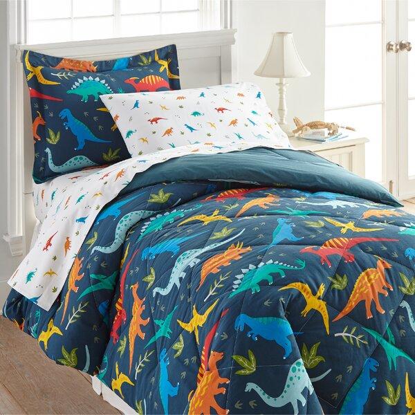 Jurassic Dinosaurs Cotton Comforter Set