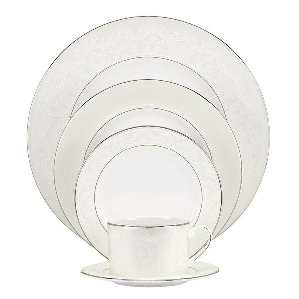 Chapel Hill Bone China 5 Piece Place Setting, Service for 1 by kate spade new york