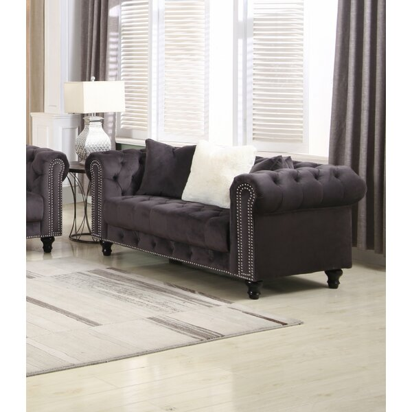 Benigna Chesterfield Loveseat By House Of Hampton