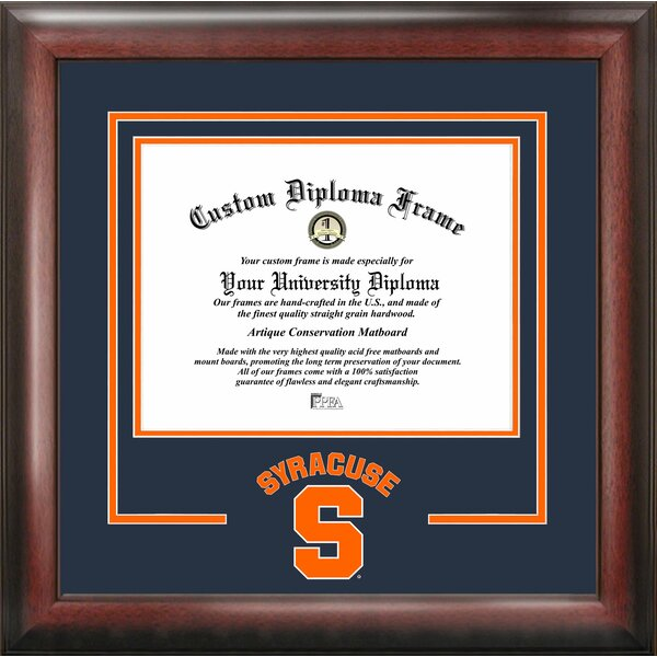 NCAA Spirit Diploma size by Campus Images