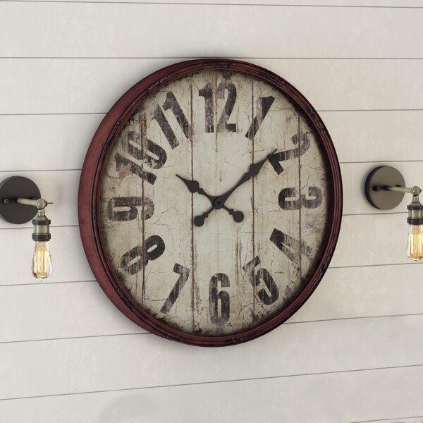 Burkhart Wall Clock by Birch Lane™