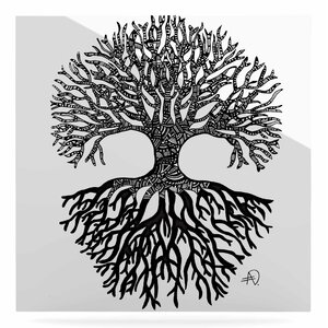 'The Tree of Life' Graphic Art Print on Metal by East Urban Home