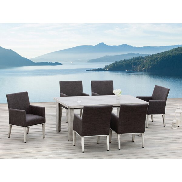Montreal 7 Piece Dining Set by Ove Decors