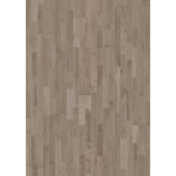 Harmony and Tropical 7-7/8 Engineered Oak Hardwood Flooring in Alloy by Kahrs