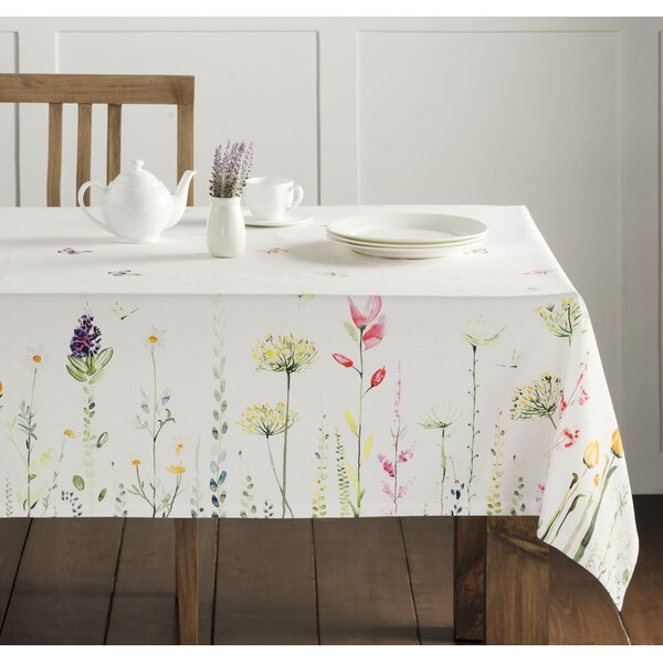 Botanical Fresh Tablecloth by Maison d' Hermine