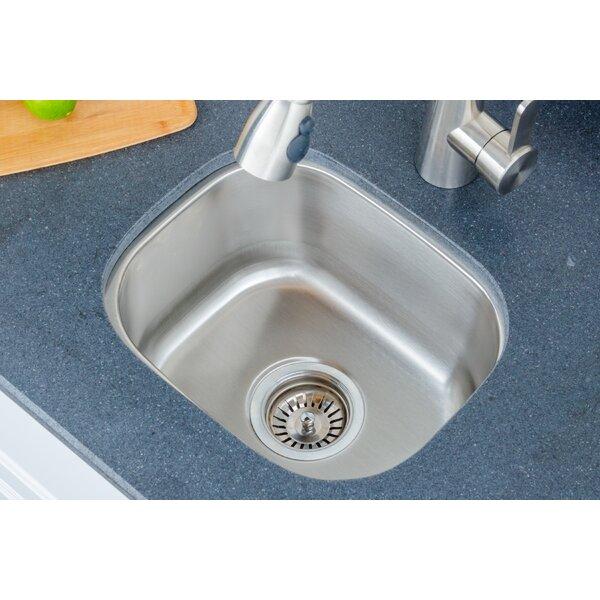 Craftsmen Series 15 L x 12.75 W Bar Sink by Wells Sinkware
