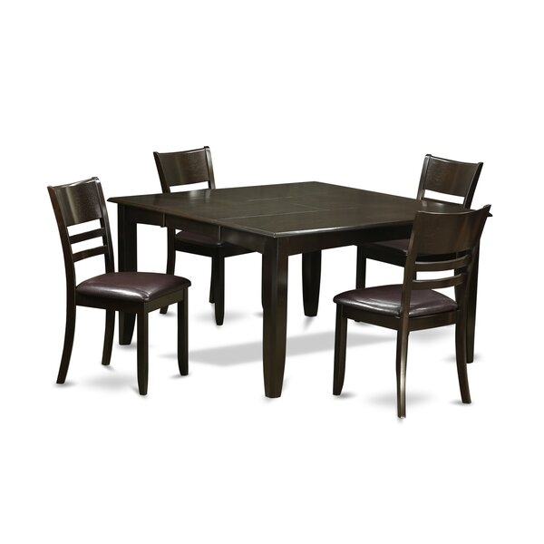 Fresh Parfait 5 Piece Dining Set By Wooden Importers 2019 Sale