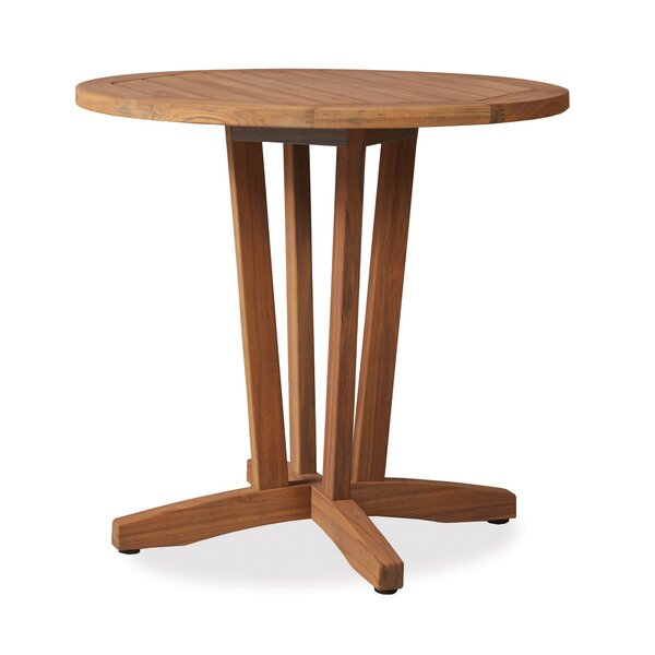 Teak Bistro Table by Lloyd Flanders