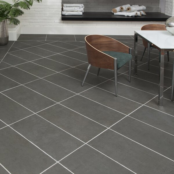 Citified 2 x 6 Porcelain Subway Tile in Charcoal by PIXL
