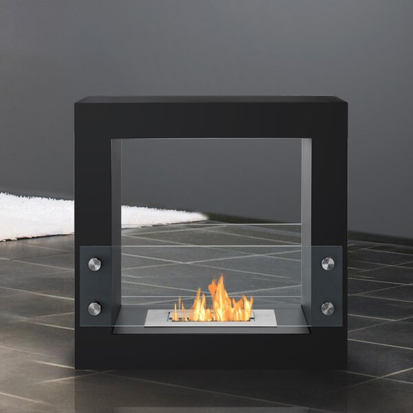 Tectum Mini Ventless Bio-Ethanol Tabletop Fireplace by Ignis Products