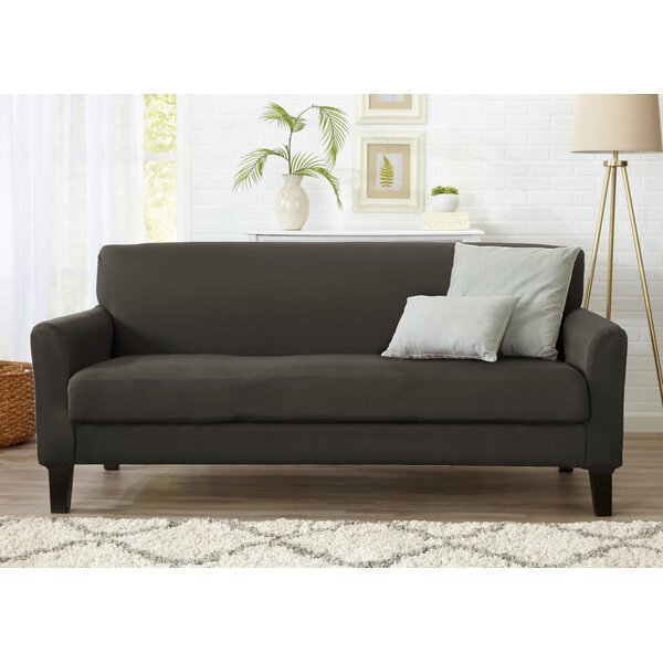 Box Cushion Sofa Slipcover by Winston Porter