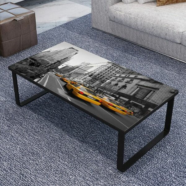 Winchelsea Print Coffee Table by Ebern Designs