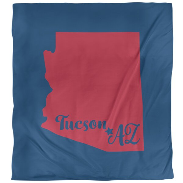 Arizona Sports Colors Duvet Cover