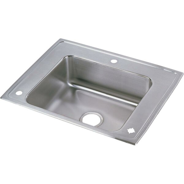 Lustertone Classic 28 L x 22 W Drop-In Kitchen Sink
