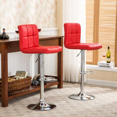 Adjustable Height Full Back Bar Stools You Ll Love In 2019