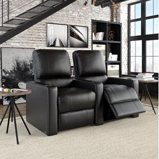 Contemporary Home Theatre Lounger (Row of 2) by Latitude Run