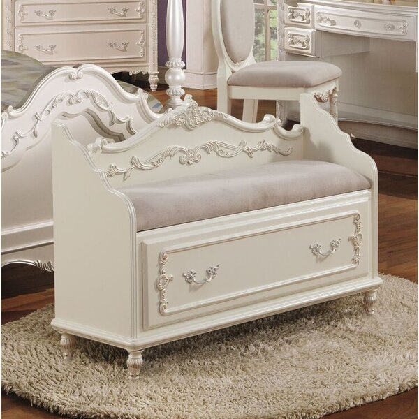 Eckenrode Storage Bench with Drawer by Harriet Bee