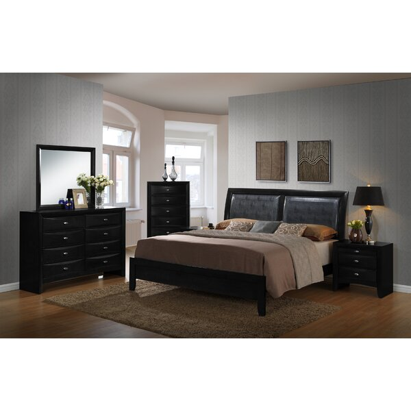 Blemerey Platform Configurable Bedroom Set by Roundhill Furniture