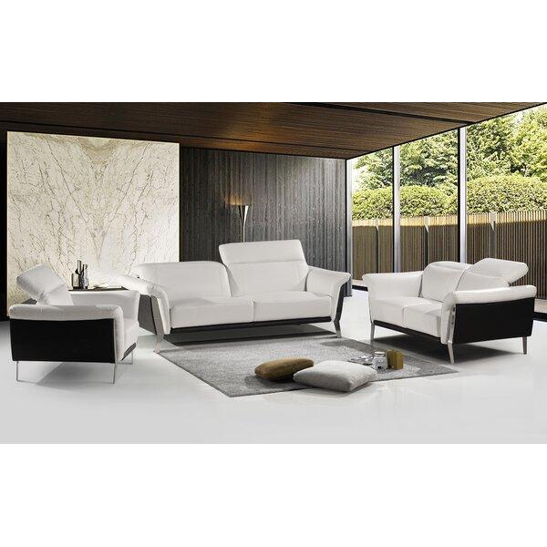 Stockard 3 Piece Living Room Set by Orren Ellis