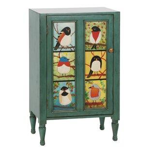 Pati B Bird Cupboard Accent Cabinet