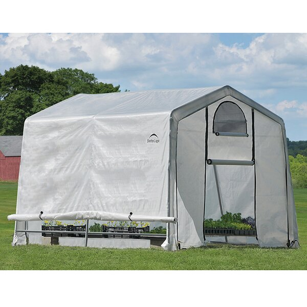 GrowIT 10 Ft. W x 10 Ft. D Greenhouse by ShelterLogic
