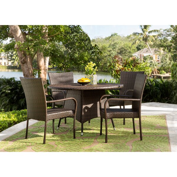 Bexton 5 Piece Dining Set by Three Posts