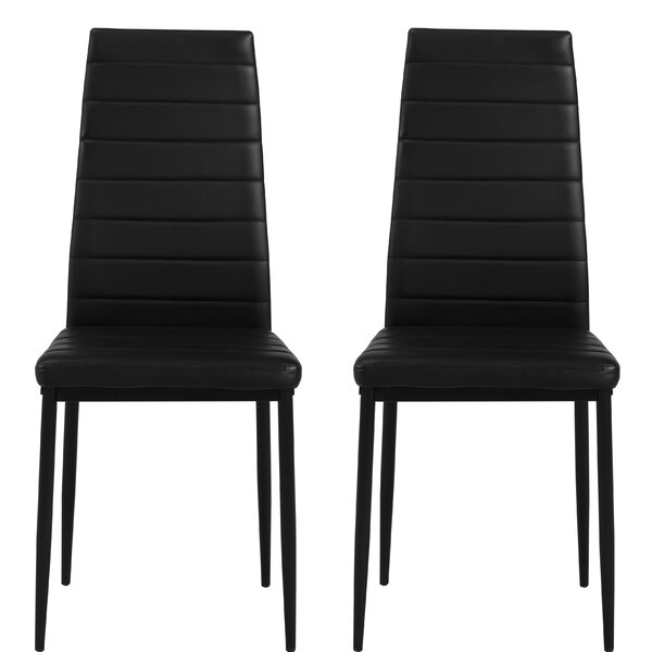 Fusco Parsons Upholstered Dining Chair (Set of 2) by Wrought Studio
