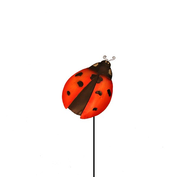 Lady Bug Garden Stake by Eangee Home Design
