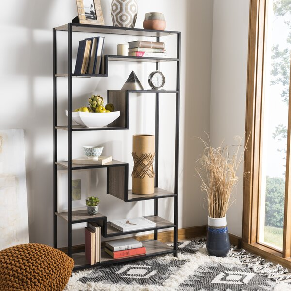 Cossey Etagere Bookcase by Wrought Studio
