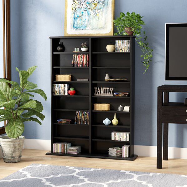 Lamb Double Width Multimedia Storage Rack by Red Barrel Studio