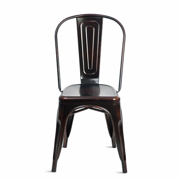 Kinnas Stacking Dining Chair (Set of 4) by Ivy Bronx