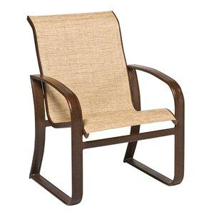Cayman Isle Sling Patio Dining Chair Woodard