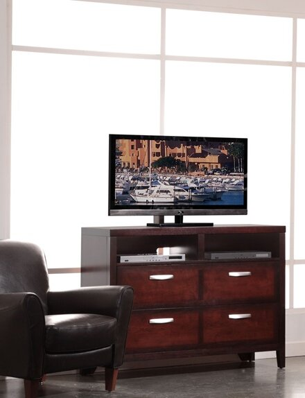Vista 4 Drawer Media Chest by Fairfax Home Collections