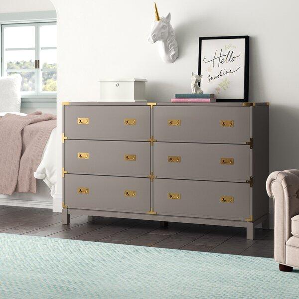 Arnulfo 6 Drawer Double Dresser by Willa Arlo Interiors
